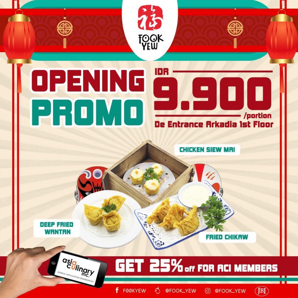Opening Promo Fook Yew De Entrance