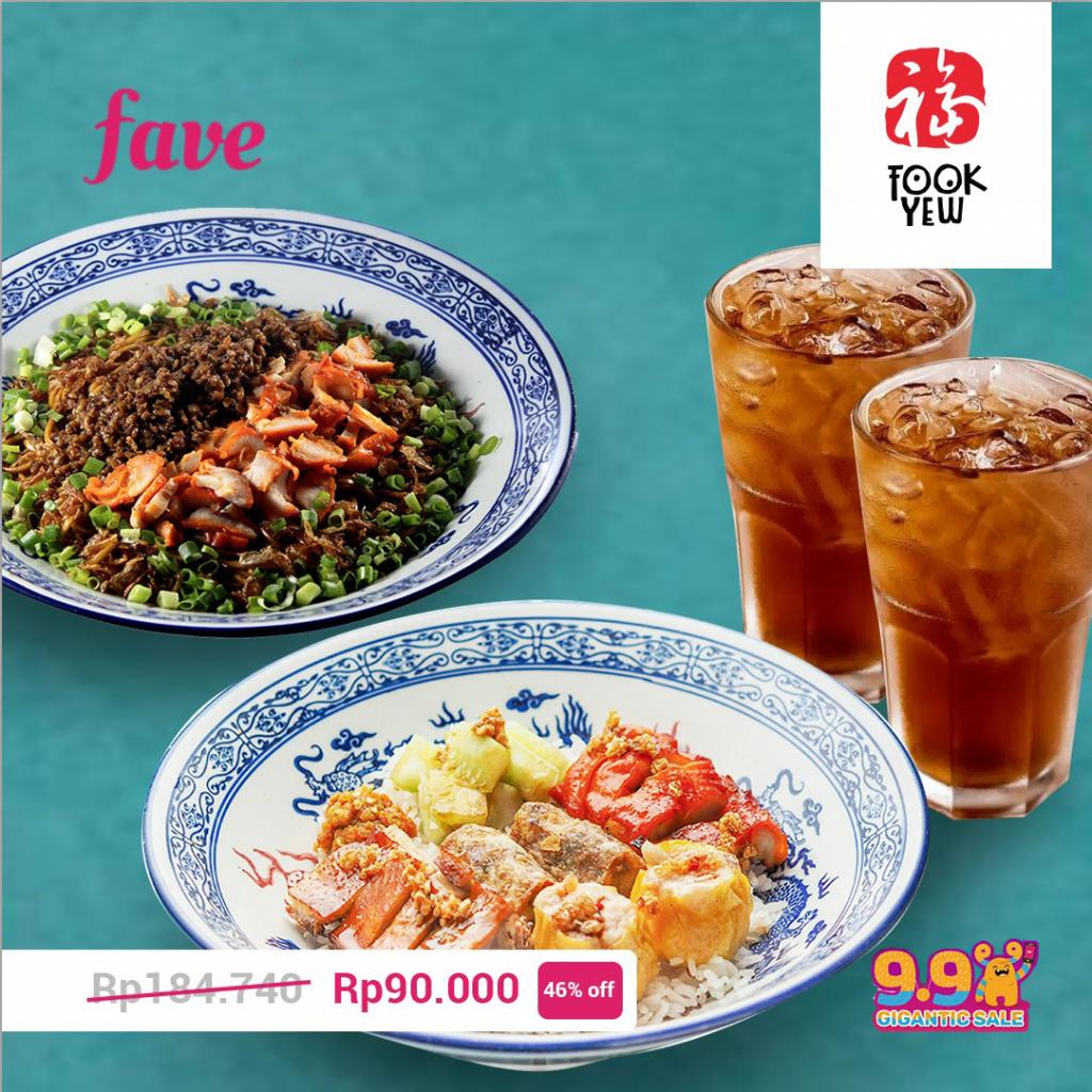Fave Super Deals: Special Package Rp90.000